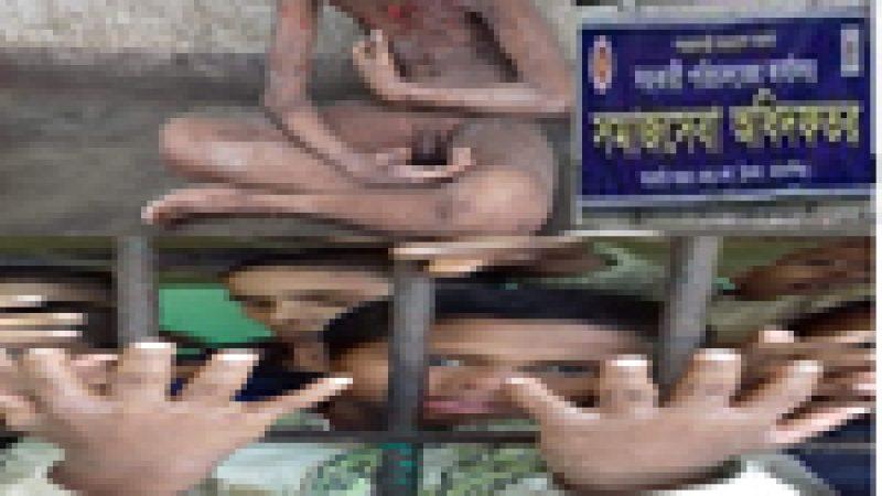 অপুষ্টিতে রোগাক্রান্ত সরকারী আশ্রয় কেন্দ্রের শিশুরা