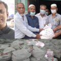 বানারীপাড়া-উজিরপুরে অসহায় পরিবারের মাঝে আ'লীগ নেতা আনিসুর'র ঈদ উপহার বিতরন