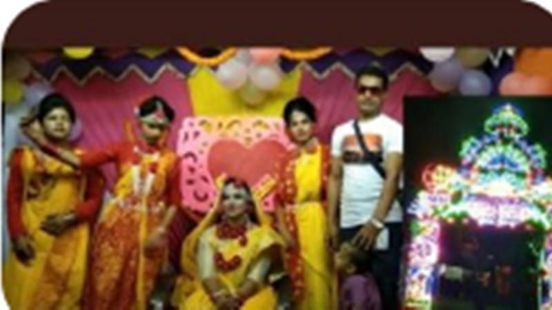 বর্নাঢ্য আয়োজনে বাবুগঞ্জের মেয়ে হামিদা হীরার গায়ে হলুদ অনুষ্ঠিত